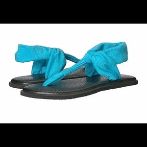 Sanuk Yoga Ella Swing in Heather Blue (Turquoise)